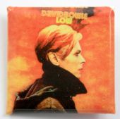 David Bowie - 'Low' Square Badge